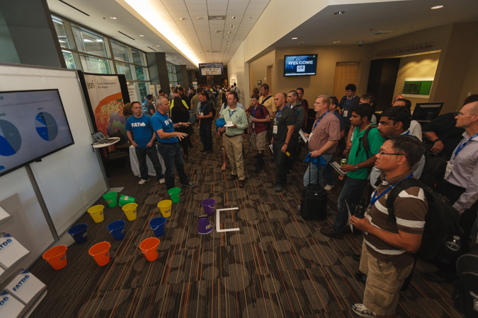 Microsoft ask the experts amp exhibitor reception